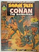 Mm Savage Tales 2nm- Bws Red Nails. Classic Conan