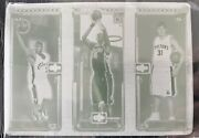 2003-04 Lebron James Bosh Topps Matrix Magenta Rookie Print Plate 1/1 Rc