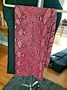 1 Day Left Pink Almost Red Long Pants Italy Size 44 Free Shipping
