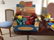 Auburn Rubber Extremely Rare Antique 1960and039s Display Box And Toys