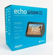 Echo Show 5 Hd Compact Smart Display With Alexa - Brand New Ships Fast