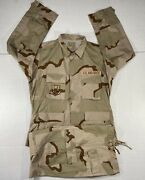 Military Us Air Force Mens Desert Combat Camouflage Coat And Trousers Pants Nato