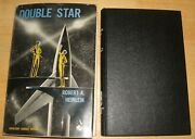 Double Star Robert A. Heinlein 1956 Doubleday 2nd Printing Hardcover In Jacket