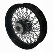 Demonand039s Cycle 16 X 3.5 Blk/chr 80 Spoke Front Wheel For Harley