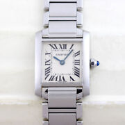 Tank Francaise Sm W51008q3 Oh Done 25.35 Andtimes 20.3 Mm Ladies Watch White