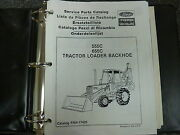 Ford New Holland 555c And 655c Tractor Loader Backhoe Parts Catalog Manual
