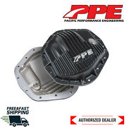 Ppe Heavy Duty Brushed Cast Aluminum 14 Bolt Rear Cover 01-19 Gm 2500hd 3500hd