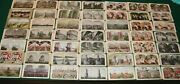 Stereoview Lot 122 Total Various Subjects And Makers Keystone Wild West Victorian