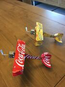 Shiner Bock Coca Cola Combo Airplanes Made From Real Beer Cool Plane