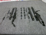 1965 - 1970 Mustang Convertible Seat Tracks With Stands And Hardware