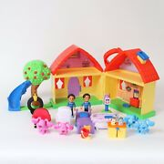 Blues Clues And You Blues House Playset 13 Pieces + 4 Extra Figures Toy 2020