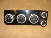 05 2005 Nissan Quest Heater A/c Climate Temperature Control Front S And Sl