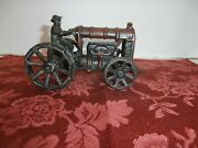 Antique Arcade Fordson Cast Iron 1920 5 Inch Tractor With Drived Original U.s.a