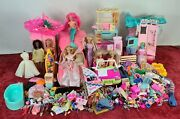 Barbie Collection. 6 Dolls And Kent. Infinity Of Accessories. Mattel. 90's.