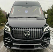 Sprinter W907 2018- Front Bumper V2 Tuning Abs Plastic Unpainted 2019 2021