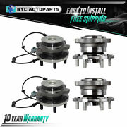 2x Front + 2x Rear Wheel Hub And Bearing For 2005-2011 2012 Nissan Pathfinder 4x4