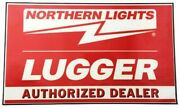 Northern Lights Lugger Generator 12 X 20 Decal Sticker Authorized Dealer Sign