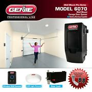 Genie Wall Mount Garage Door Opener Model 6070 Plus 2 Remotes And Keyless Entry