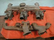 1953-55 Corvette Intake/exhaust Manifold Including Carbs