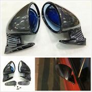 For California Style F1 Mirrors Hot Rod Vintage Car Side Wing Mirror+gaskets Kit