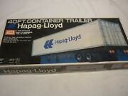 Imai Un-opened / Un-made Plastic Kit Of A 40ft Container Trailer Hapog Lloyd