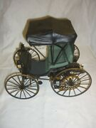 A Franklin Mint Scale Model Of A 1893 Duryea Horseless Carriage No Box