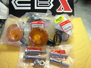 Honda Cbx 197819791980 Complete Set Of Nos Signals And Chrome Post And Hardware