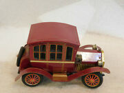 Vintage Tn Nomura Japan Toys Tin Lithograph Battery Operated Antique Car