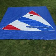 Sunfishandreg Sail In Red White And Blue With Window Five Panel Design