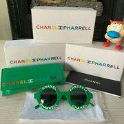 New X Pharrell Williams Sunglasses Green Authentic Nigo Supreme Yeezy Lv2