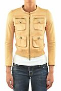 Dsquared2 Jacket Brown Leather Woman Mod.s75am0292sx7036020