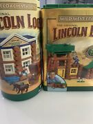 """Lincoln Logs Stagecoach Station And Wild West Frontier """"used"""" Missing Animals"""