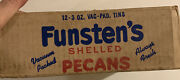 Case Of 12 Unopened Nos Tin Cans 1950andrsquos Funstenand039s Shelled Nuts Pecans Sealed