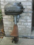 1940and039s Vintage Martin 60 Outboard Boat Motor 2 Stroke.