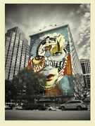 Shepard Fairey Sandra Chevrier The Beauty Of Liberty Equality Obey Poster Prints