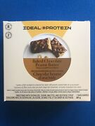 Ideal Protein Baked Chocolate Peanut Butter Protein Bars - 7 Bars - Exp 2/28/22