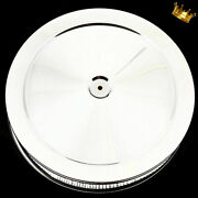 Chrome Air Cleaner 14 Inch Fits Ford Sb Chevy Bb Chevy Mopar Pontiac And Olds