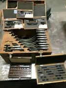 Mitutoyo 1-12 Pc Micrometer Set, High Quality Machinist Measuring Tools W/case