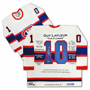 Guy Lafleur Career Jersey Ccm Elite Edition 10/10 - Signed - Montreal Canadiens