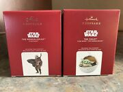 2020 Hallmark Star Wars The Mandalorian And The Child Ornament Sold Out Rare Mib