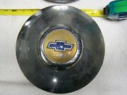 Vintage Chevy Truck Dog Dish Hubcaps. Bowtie. Set Of 4. 10 Inch