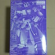 Event Limited Mg Gundam Rx78 Nt-1 Metal Clear Version