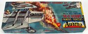 Vintage Aurora Famous Fighters Se-5 Scout Wwi Toy Airplane Model Kit