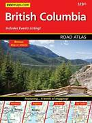 British Columbia Road Atlas - Spiral-bound By Canadian Cartographic Corp - Good