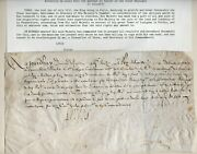 1612 Louis Xiii King Of France Cover With Original Signature No Reserve
