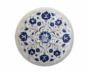 12 Round Marble Coffee Table Top And Chopping Board Kitchen Decor Patio Gift