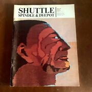 Shuttle Spindle And Dyepot Issue 28 Fall 1976 Twill, Shaker, Christmas