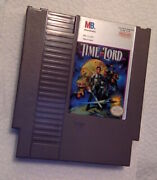 Time Lord Nintendo Nes Video Game Cartridge Authentic/cleaned/tested