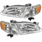 P. Fits For Corolla 1998 1999 2000 Headlights And Corner Lights Right And Left Side
