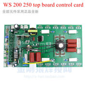 Ws 200 250 Top Board Control Card For Mosfet Cotrollled Mma/tig Welding Machine